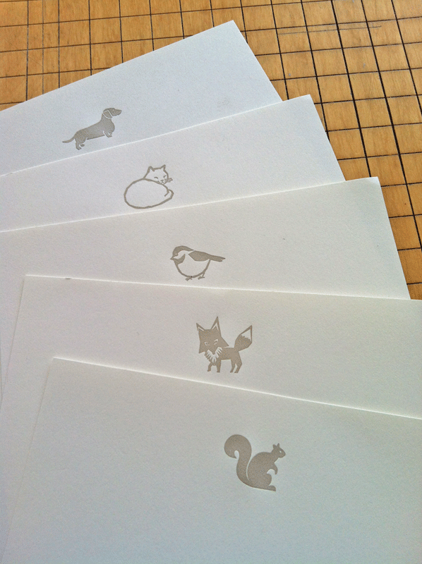 Animal lettersheets for Stationery Saturday