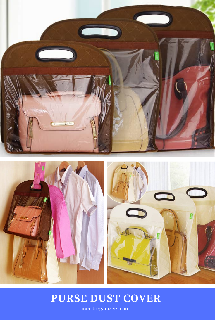 Purse Dust Covers Organizing Purses In Closet Storage Closet Organization Purse Storage