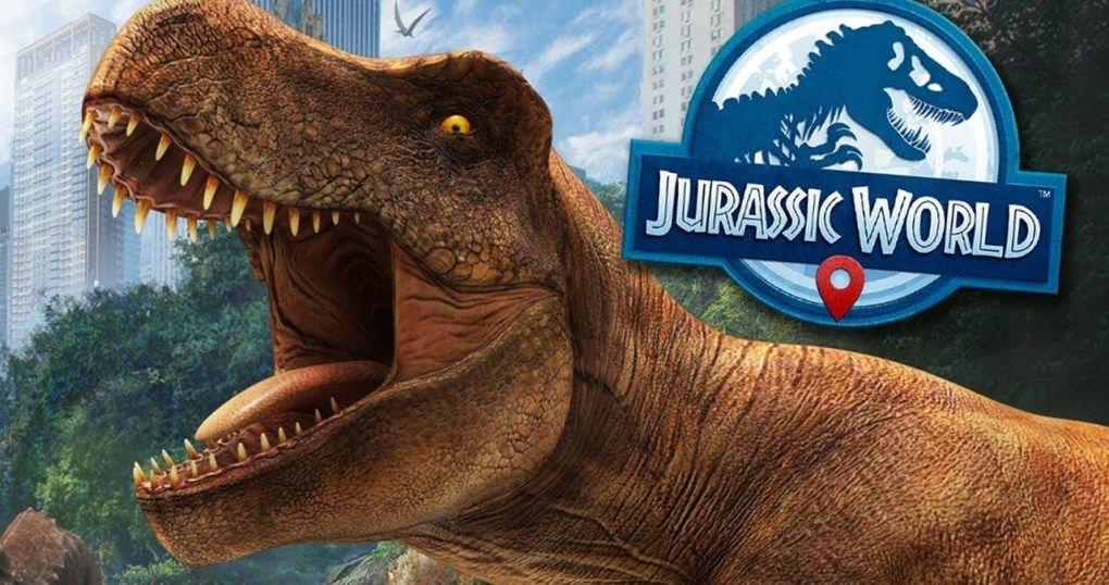 Jurassic World Alive Pokemon Go With Giant Dinosaurs
