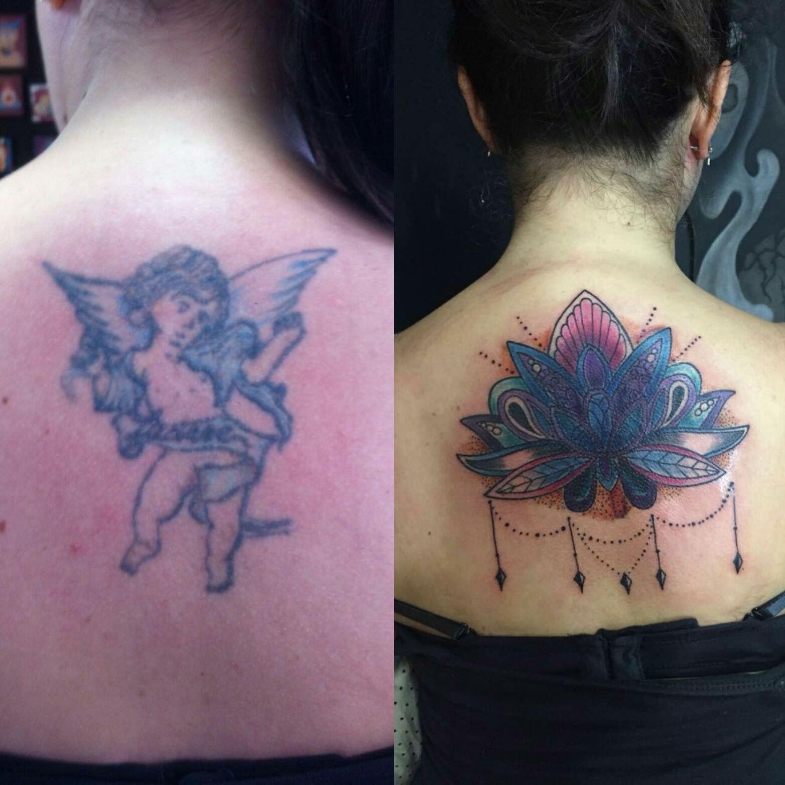 Inspiração para tatuagem de А. Гарева em coverups