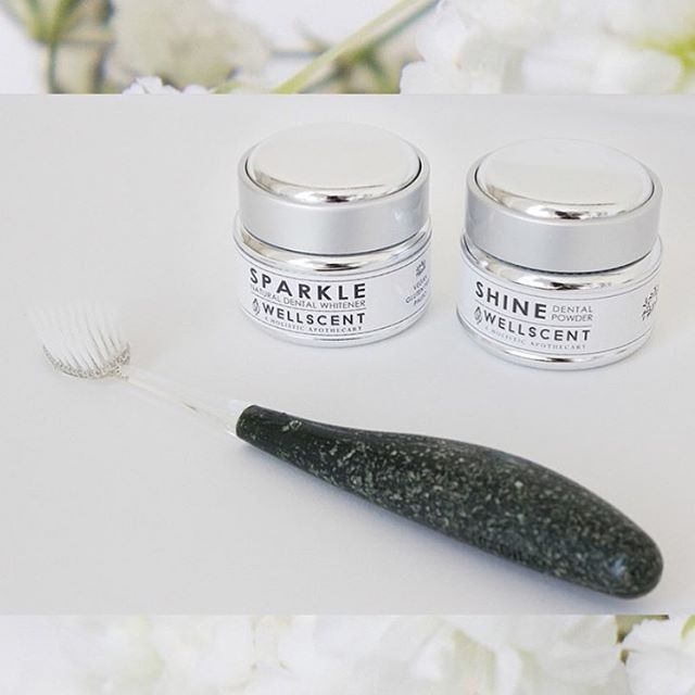 Sparkle + Shine! Available on www.well-scent.com #DentalCare #Apothecary #HolisticHealth #NaturalDentalCare