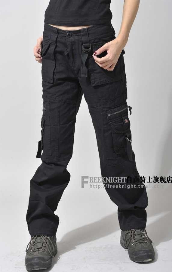 black cargo pants for women - Google Search  2607801c0d