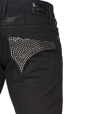 b551dac1bcb Robin s Jean Big  amp  Tall In Black (Black Swarovski) These lightweight  pants feature