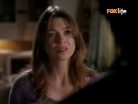Derek e Meredith - Sono innamorato di te...