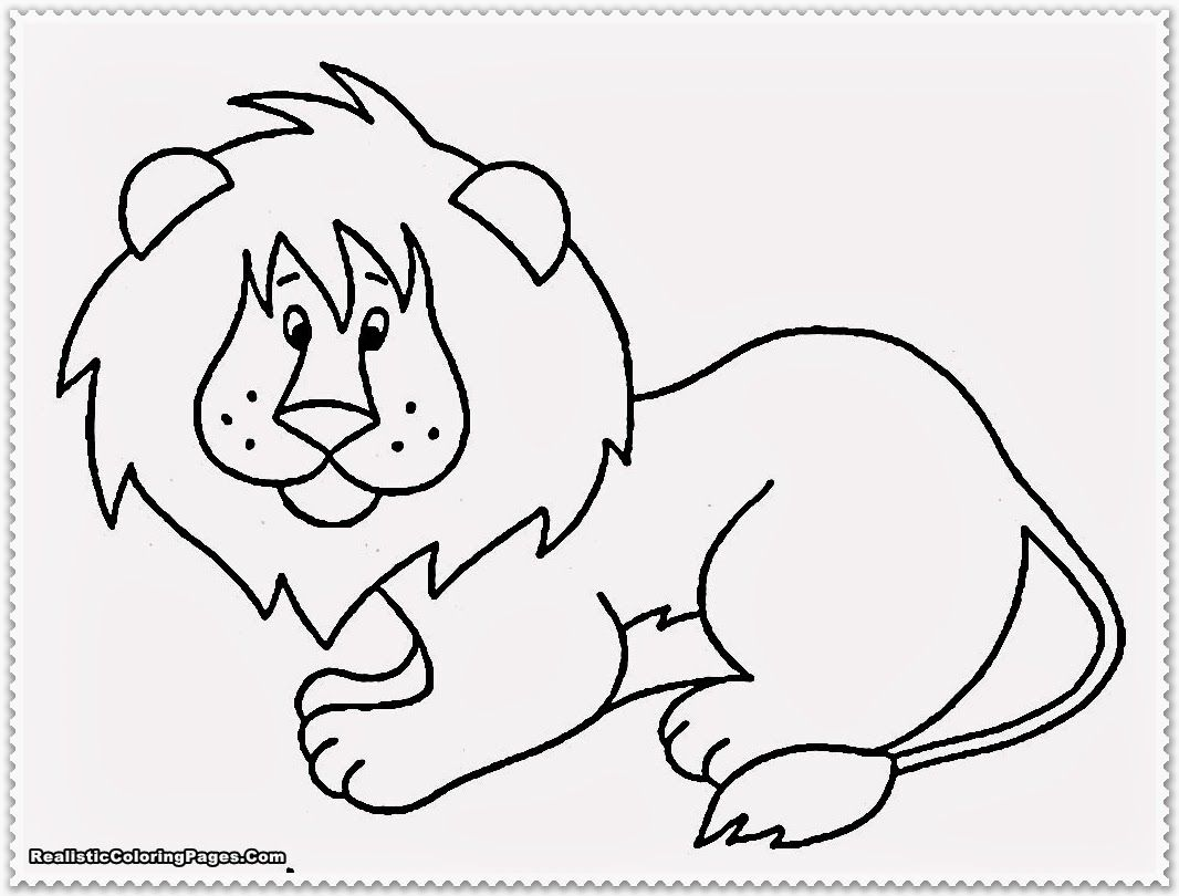 Baby Jungle Animals Coloring Pages | pre-k 3 | Pinterest