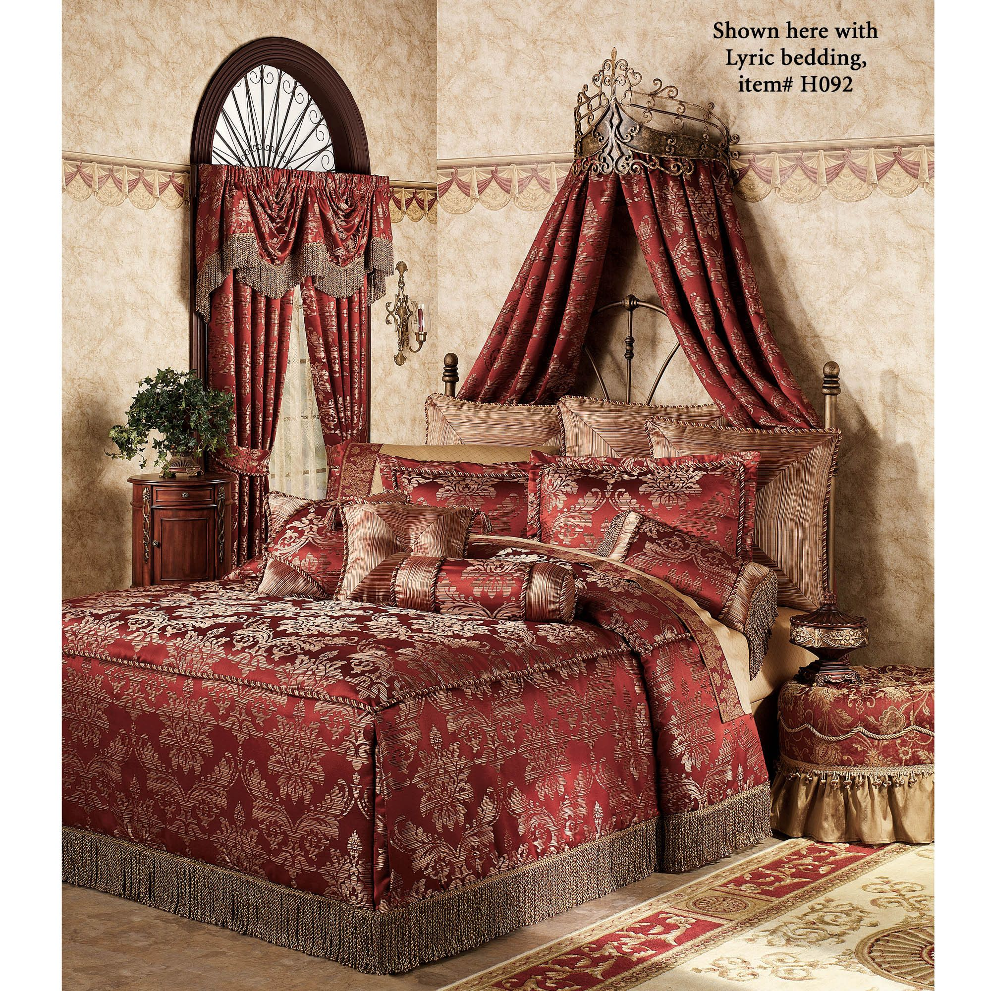 Alexandria Crown Iron Wall Teester Bed Crown Bed Crown - Canopy idea bed crown