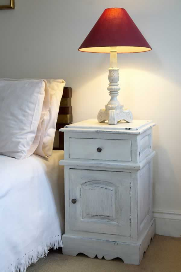 Bedroom Furniture Bedside Cabinet Antique White LOVE this style