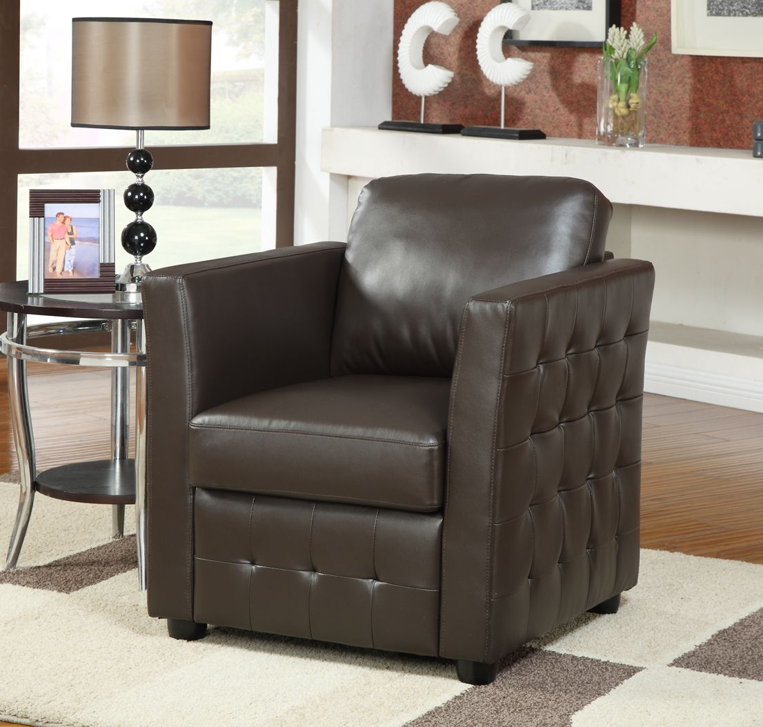 The Bari Club Chair Is A New Bonded Leather Chair With Studded Detail It Is Available In A