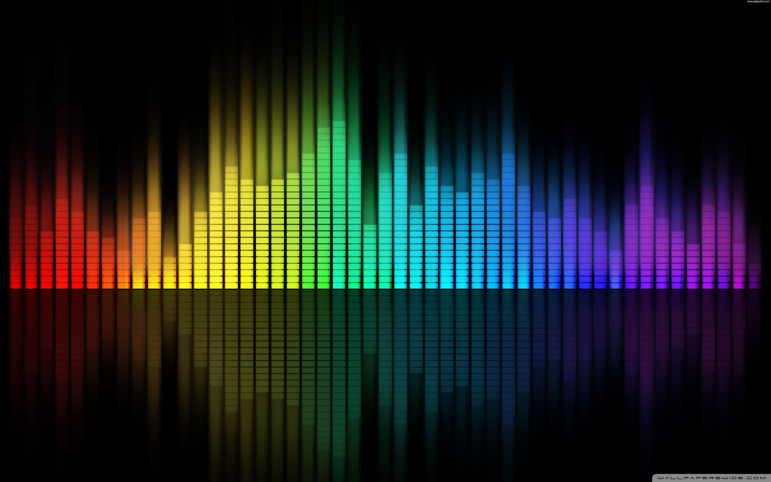 Music Equalizer Hd Desktop Wallpaper Widescreen High Music