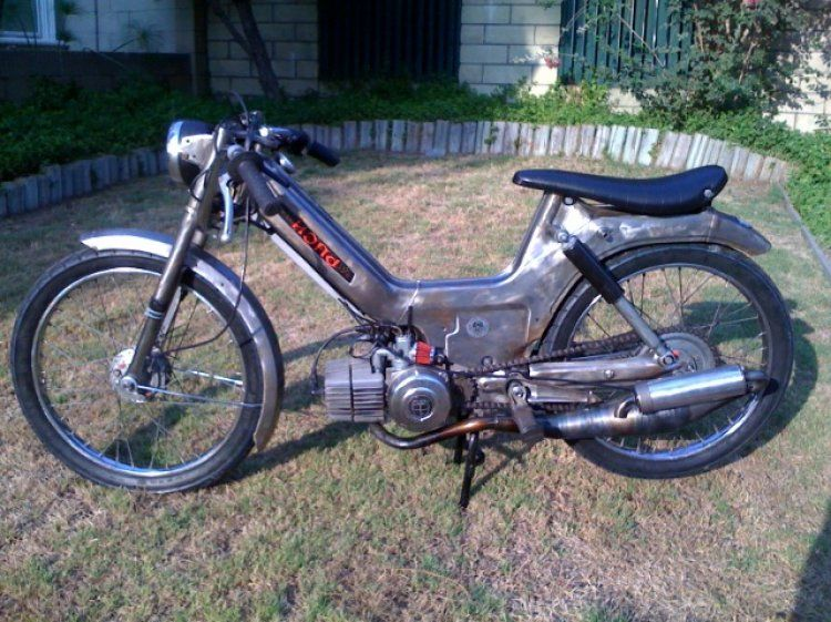 1977 Puch Maxi - Swarm & Destroy   PUCH Motorcycle   Puch