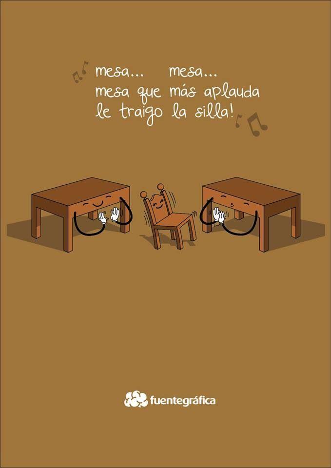 Mesa que mas aplauda  Humor  Humour espagnol Humour y