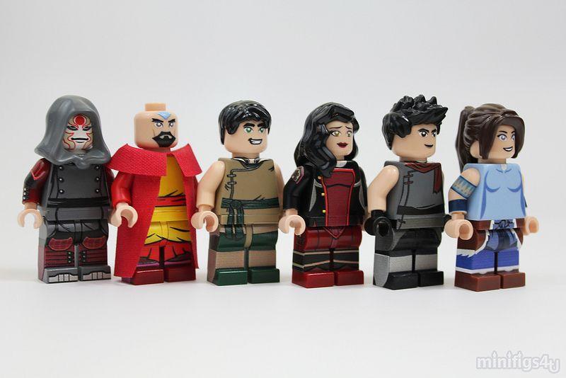 Legend Of Korra Toys : The legend of korra lego figures amazing arts