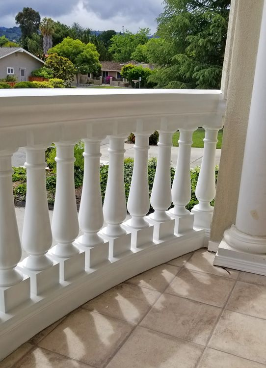 Balcony Railing, Porch Balusters