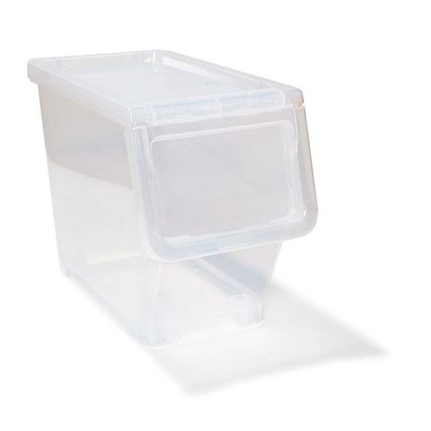 Clear Pantry Storer On Wheels Pantry Storage Containers Pantry Storage Bike Storage Design