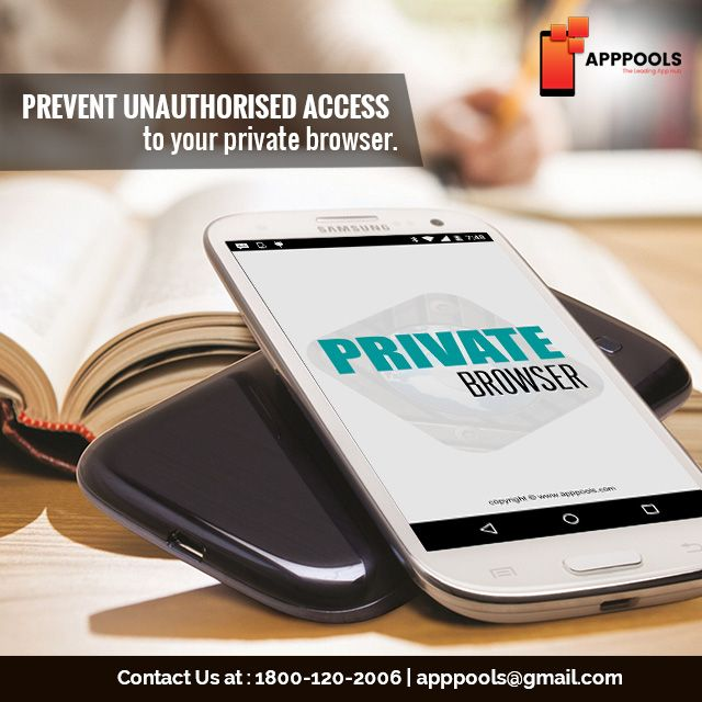 Prevent Unauthorised access to your private browser  Free download