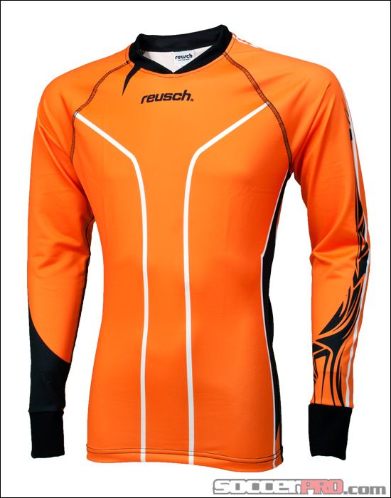 897e45df649 Reusch Tribal Pro-Fit Goalkeeper Jersey - Orange with Black... 62.99 ...