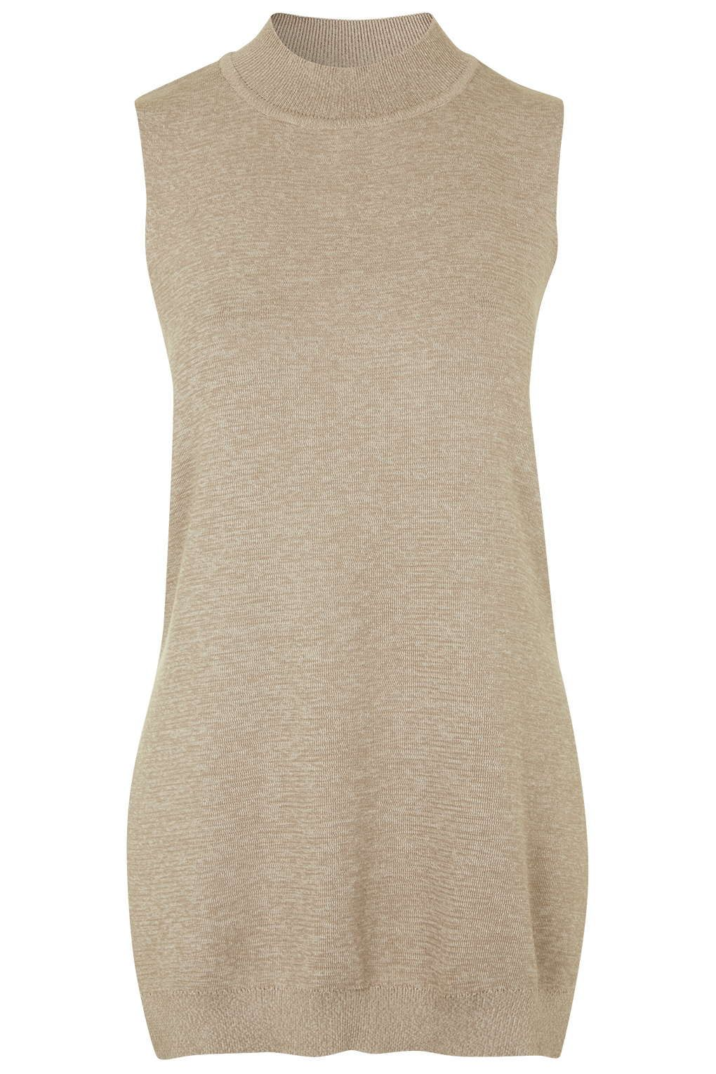 Photo 1 of Sleeveless Two-Tone Knit Top
