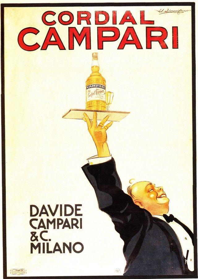 Campari, 1920, Caldanzano #illustrator   Vintage Posters & Ads ...