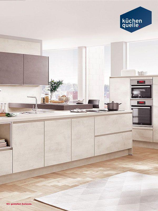 Mit der Norina 2371 zieht der derzeitige Inbegriff von Modernität in - www küchen quelle de