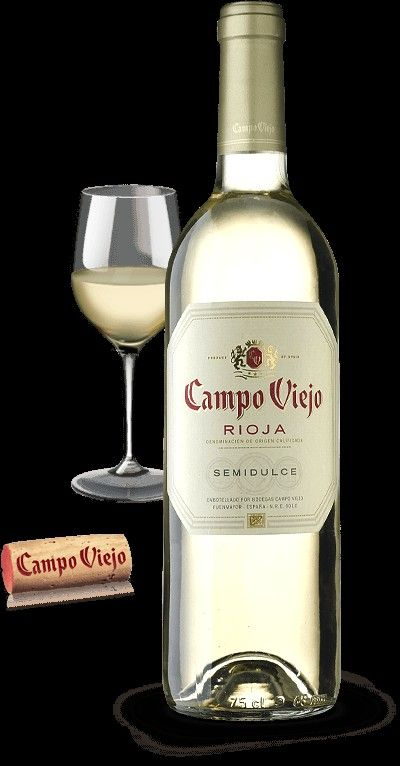 Campo Viejo Semidulce Vinos Y Quesos Copas De Vino Vino Rioja