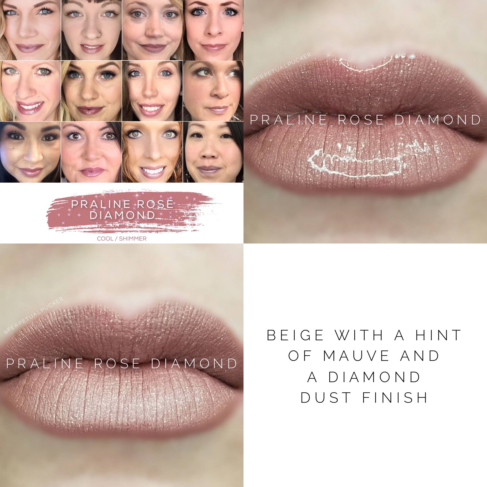 Praline Rose Diamond Lipsense Lipsense Pinterest