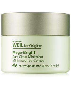 Origins Dr Andrew Weil Mega Bright Dark Circle Minimizer 0 5 Oz Reviews Skin Care Beauty Macy S Dark Circles Brown Spots On Face Dark Circles Treatment