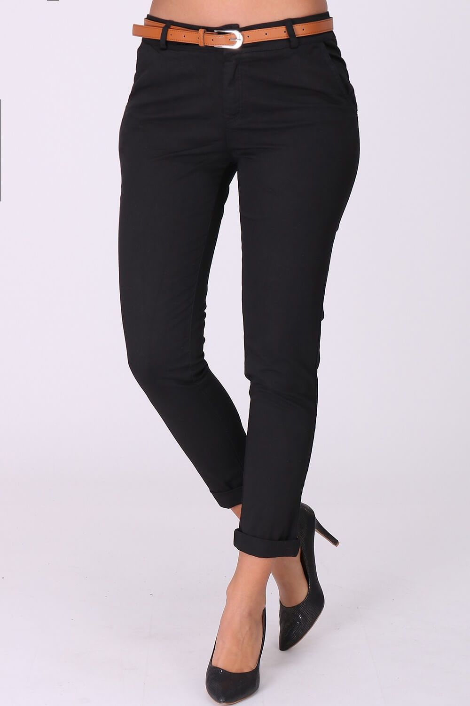 cc7ea071cbdc Elegantné čierne dámske nohavice