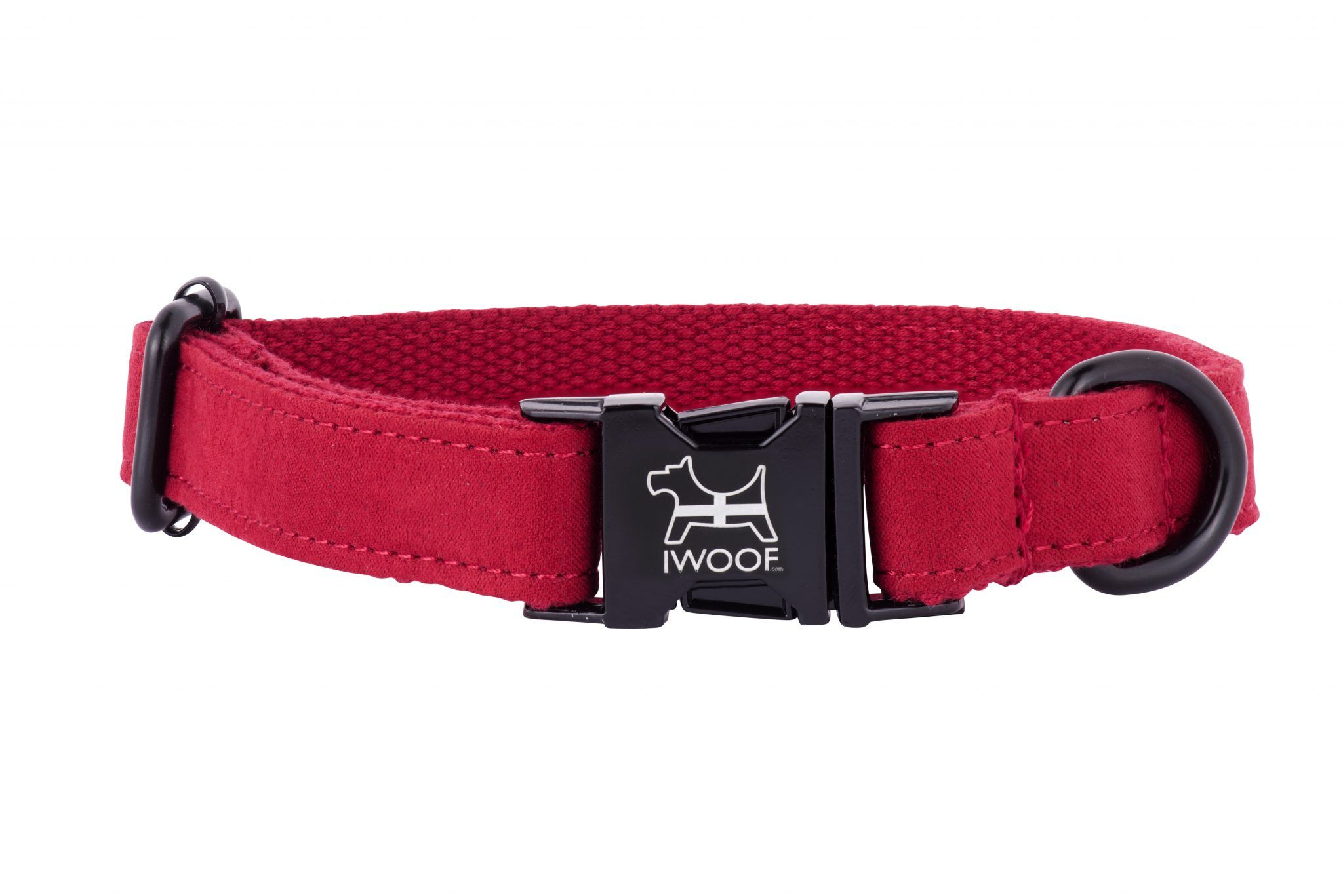 CORNISH RED Designer Dog Collar and Lead set in Black by