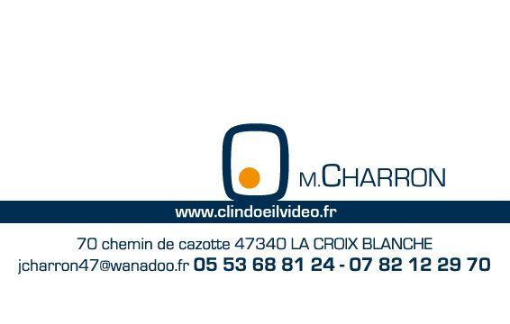 Realisation Dune Carte De Visite Pour Clin DOEil Video Entreprise Reportages Verso