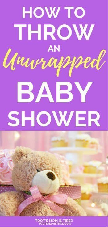 How To Throw An Unwrapped Baby Shower Kids Parenting