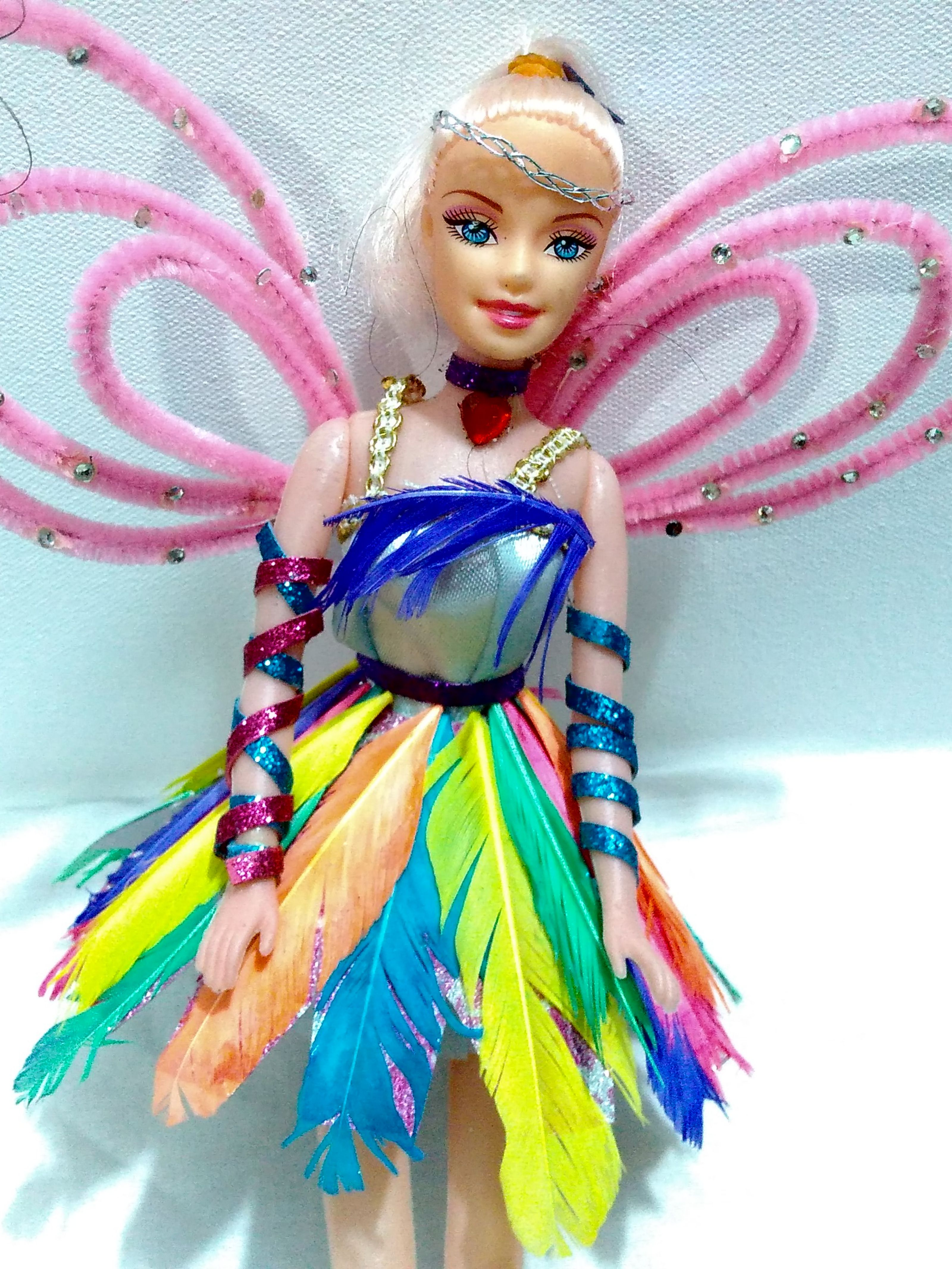 learn how to make barbie doll clothes DIY at home no sew