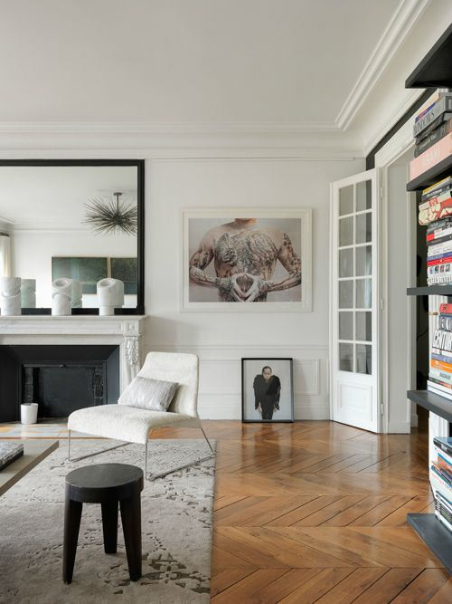 Gorgeous Modern French Interiors (40 Pics Parisians - wohnzimmer design modern