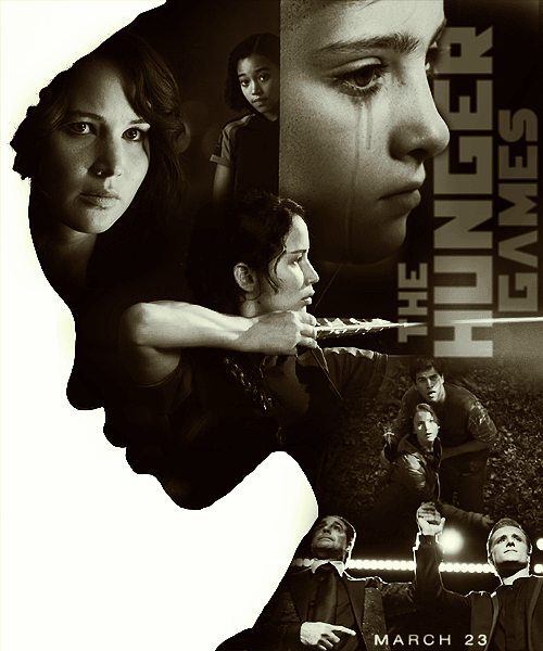 whoever did this did a beautiful job. i love Rue's poster outline.