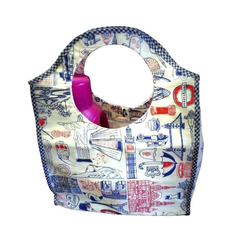 Bolso matero hecho a mano en diferentes telas impermeables emprendimiento bolsos - Bolsos de tela hechos en casa ...