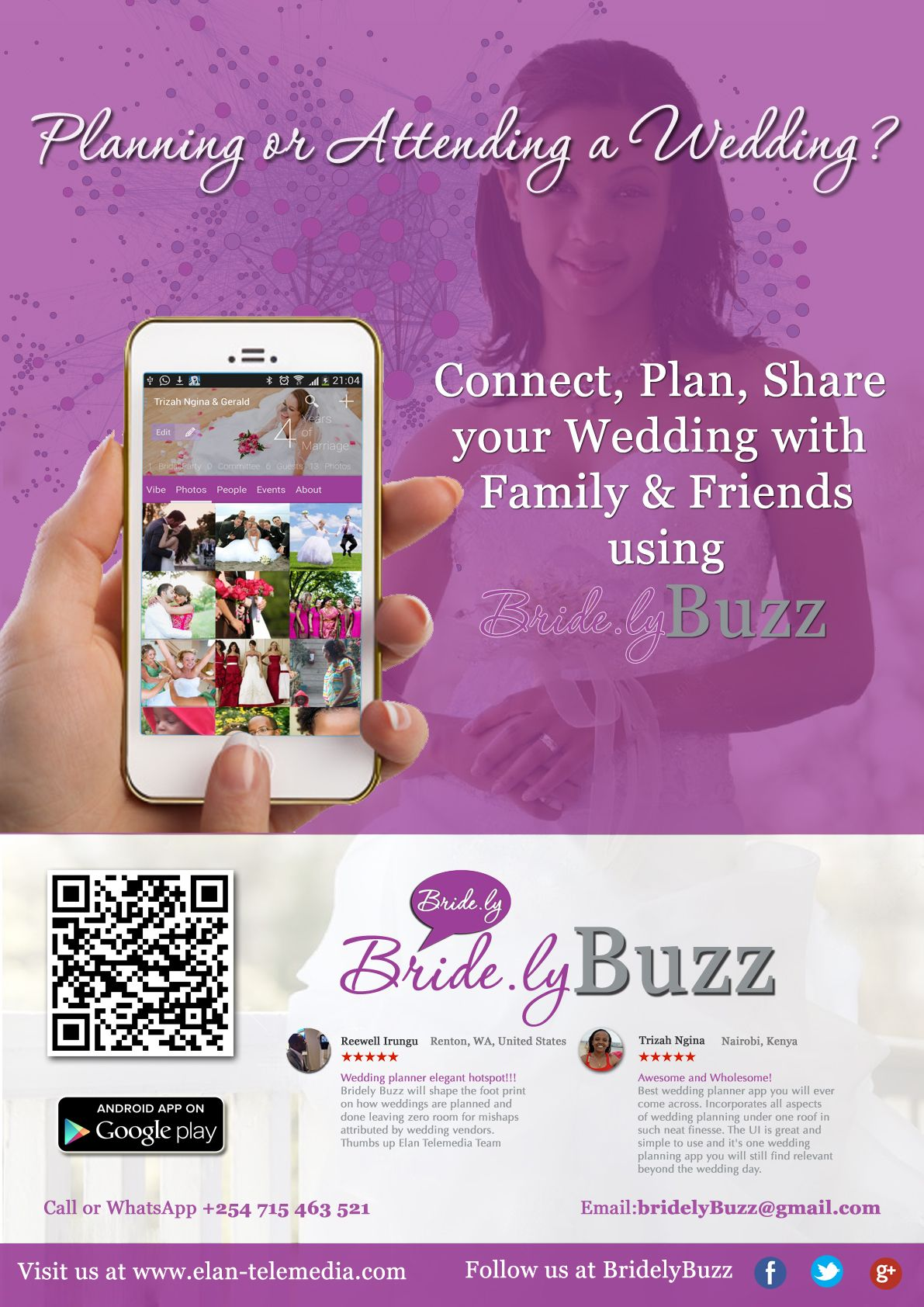 Connect Plan Share Your Wedding With Family And Friends Using Bridely Buzz Wedding Planner App Wedding Planner App Wedding Planner Wedding Apps
