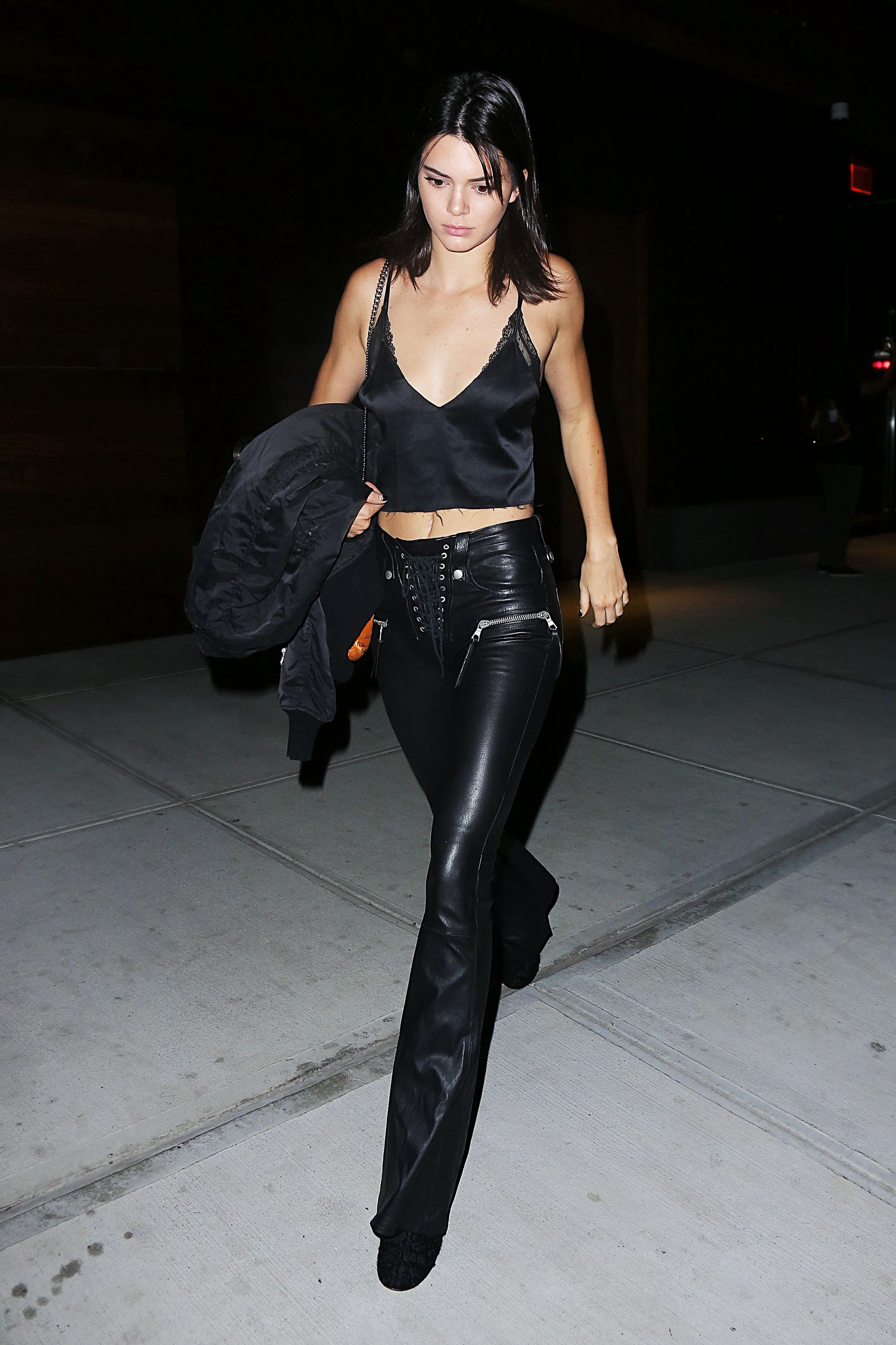 b816ba60d5e Kendall Jenner Wore the Craziest Bike Ride Look in NYC