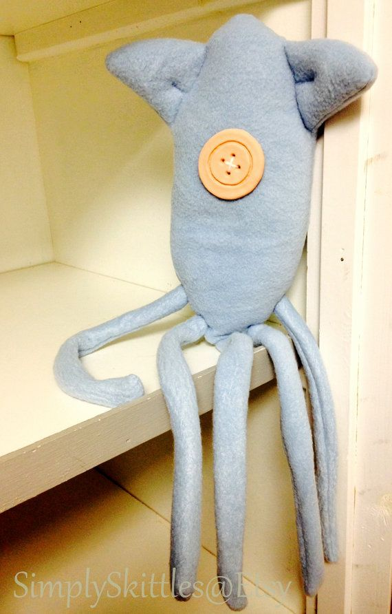Coraline Inspired Squid Plush Toy Coraline Coraline Doll Coraline Aesthetic