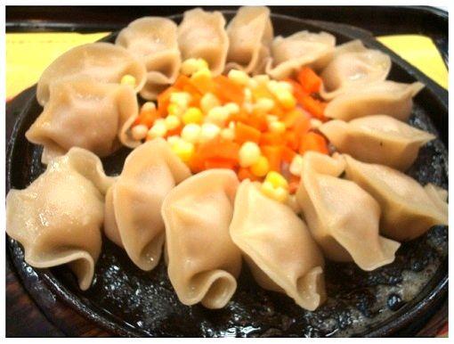 Chinese Fast Food Hunan Iron Plate Fried Dumpling