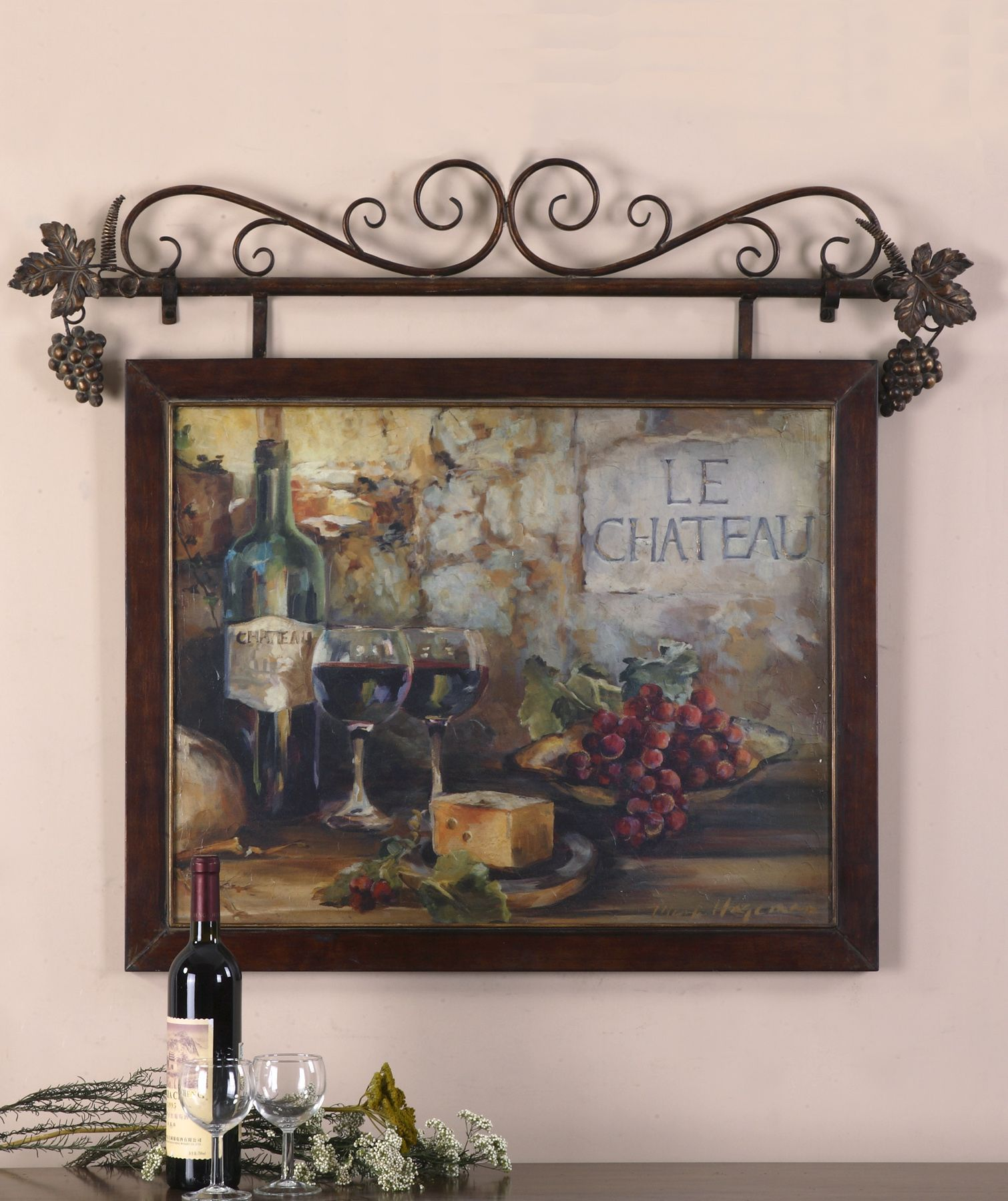 Uttermost le chateau framed art uttermost pinterest