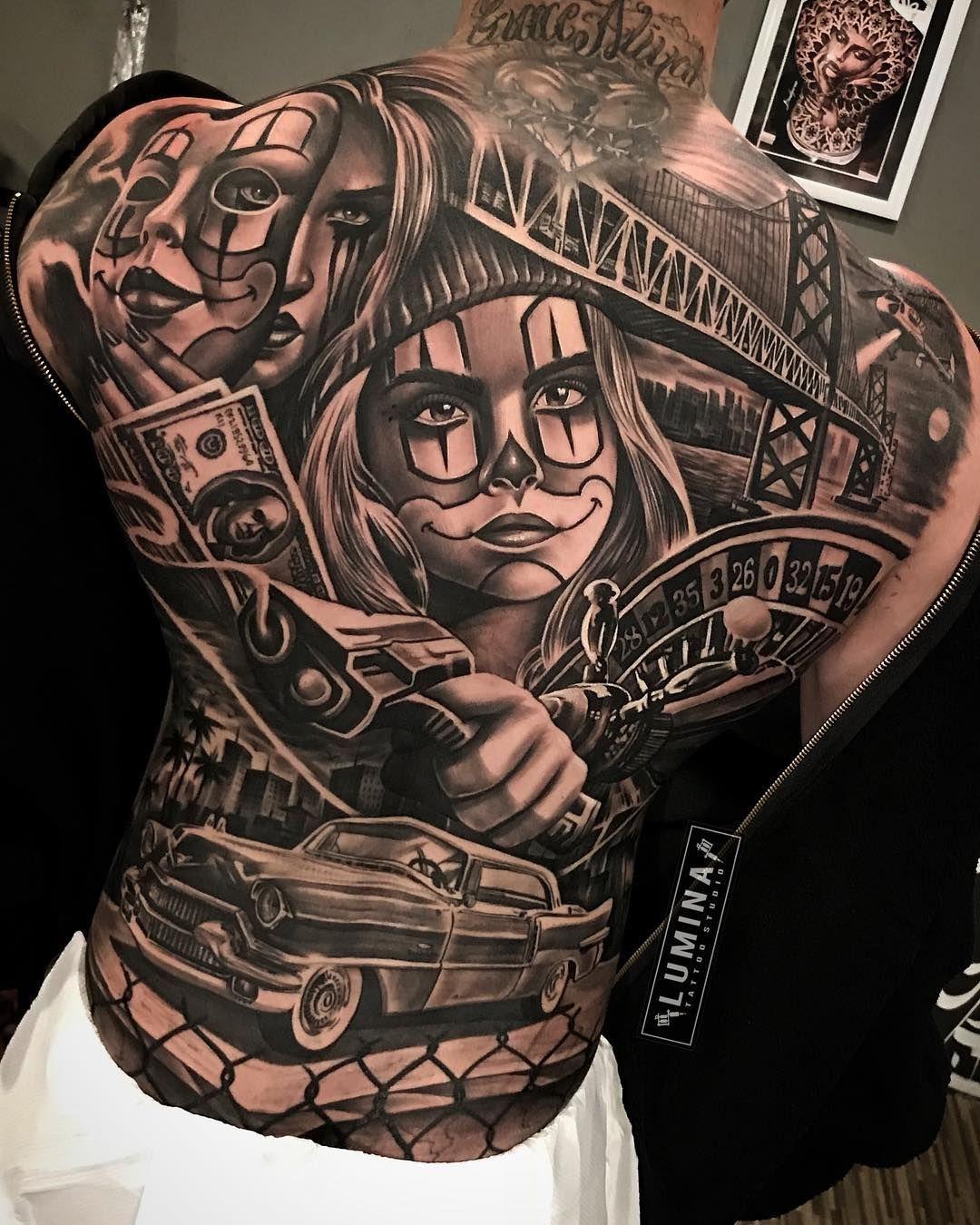 0028dfca154ac Chicano Style Tattoo, Chicano Tattoos, Body Tattoos, X Tattoo, Sick Tattoo,