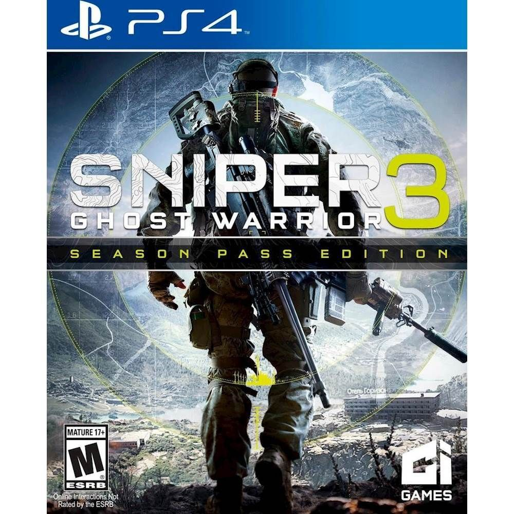 Best Buy Sniper Ghost Warrior 3 Season Pass Edition Pre Owned Preowned Sniper Xbox One Games Ps4 Games