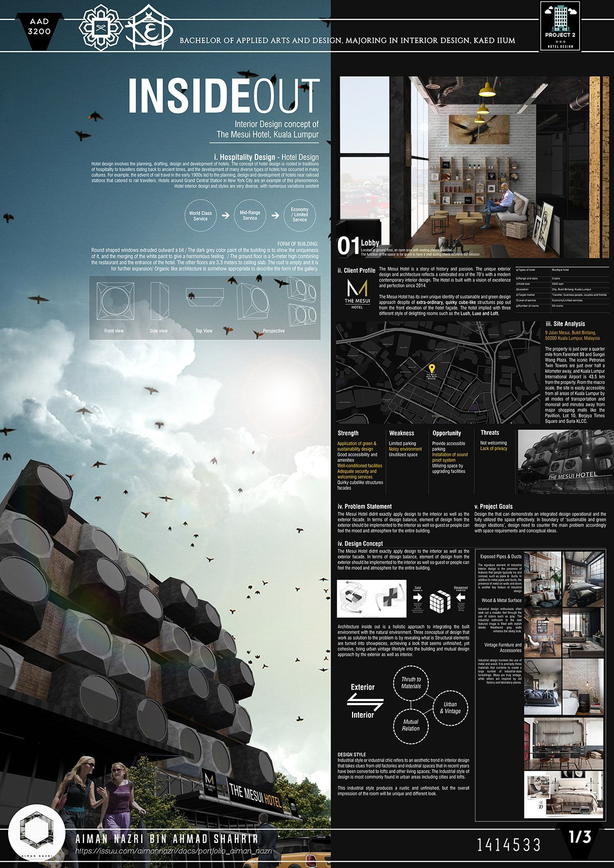 Interior Design Presentation Board  at Behance Adobe Portfolio Blog Powered By Behance Creative Career Tips iOS Apps Android Apps Engli