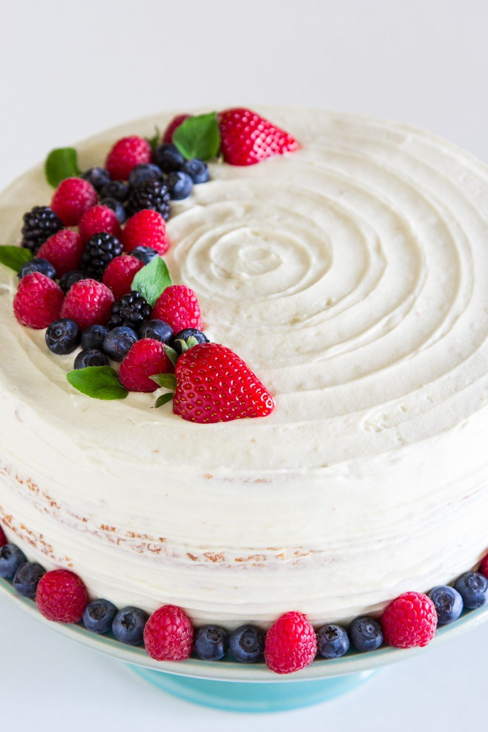 Berry Chantilly Cake - Simply Home Cooked