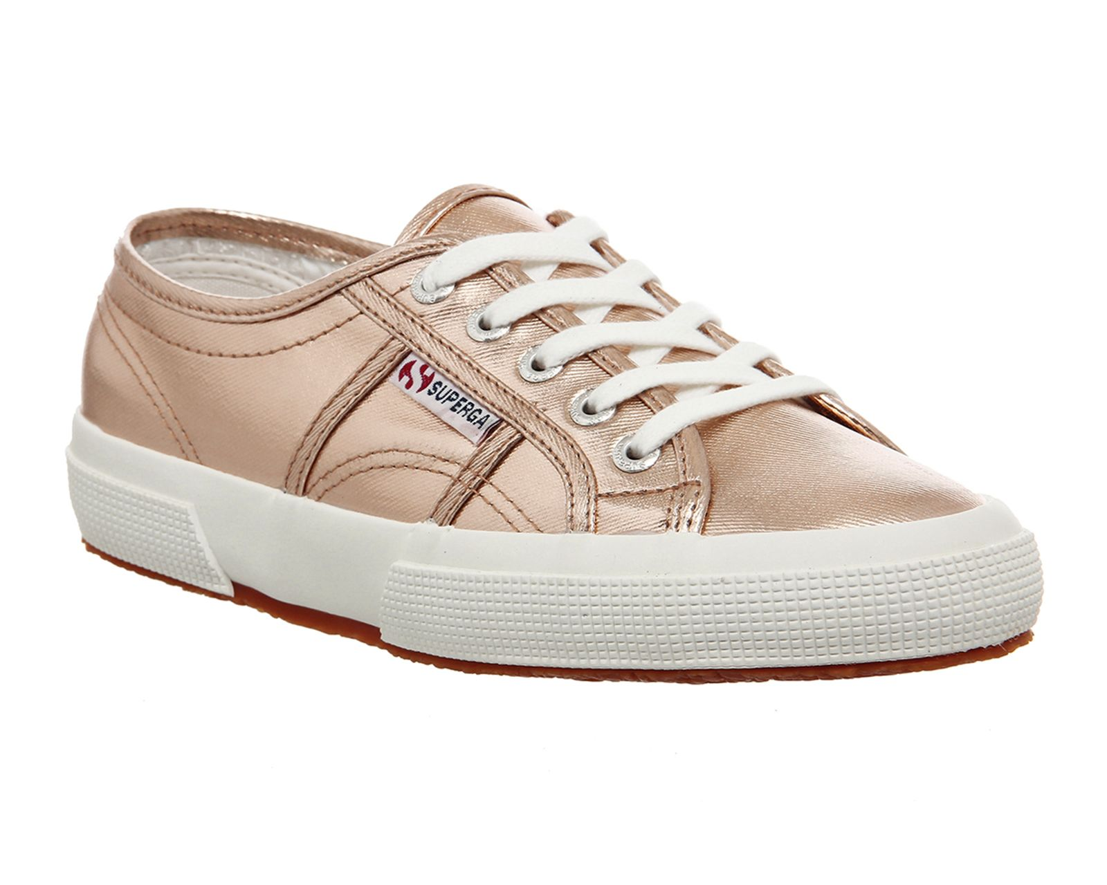 Buy Rose Gold Cometu Superga 2750 Trainers from OFFICE.co.uk.