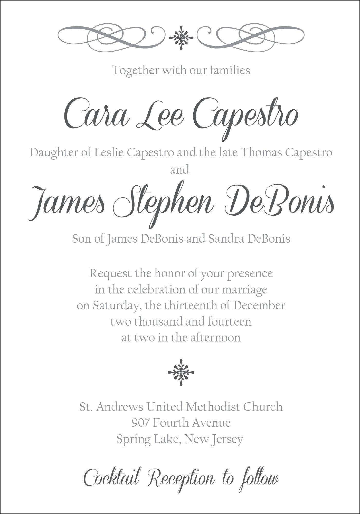 Wedding Invitation Design | Personal Invitation Designs | Pinterest ...