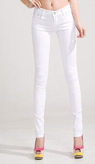 25fb5173a8 new full-color candy cotton pants Korean women thin elastic jeans pencil pants  woman's slim skinny sexy trousers/size:25-31