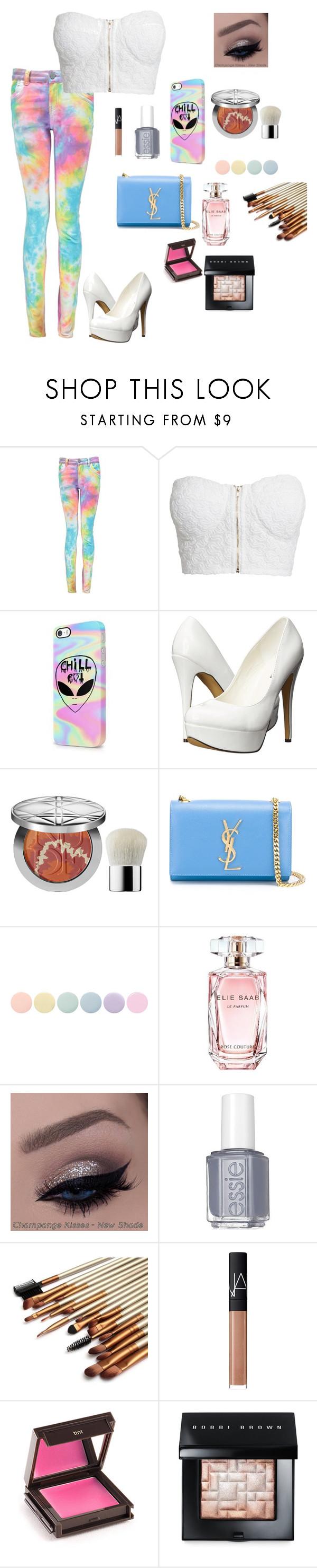 """Tye dye"" by dancegirl2006 ❤ liked on Polyvore featuring NLY Trend, Michael Antonio, Christian Dior, Yves Saint Laurent, Deborah Lippmann, Elie Saab, Essie, NARS Cosmetics, Jouer and Bobbi Brown Cosmetics"