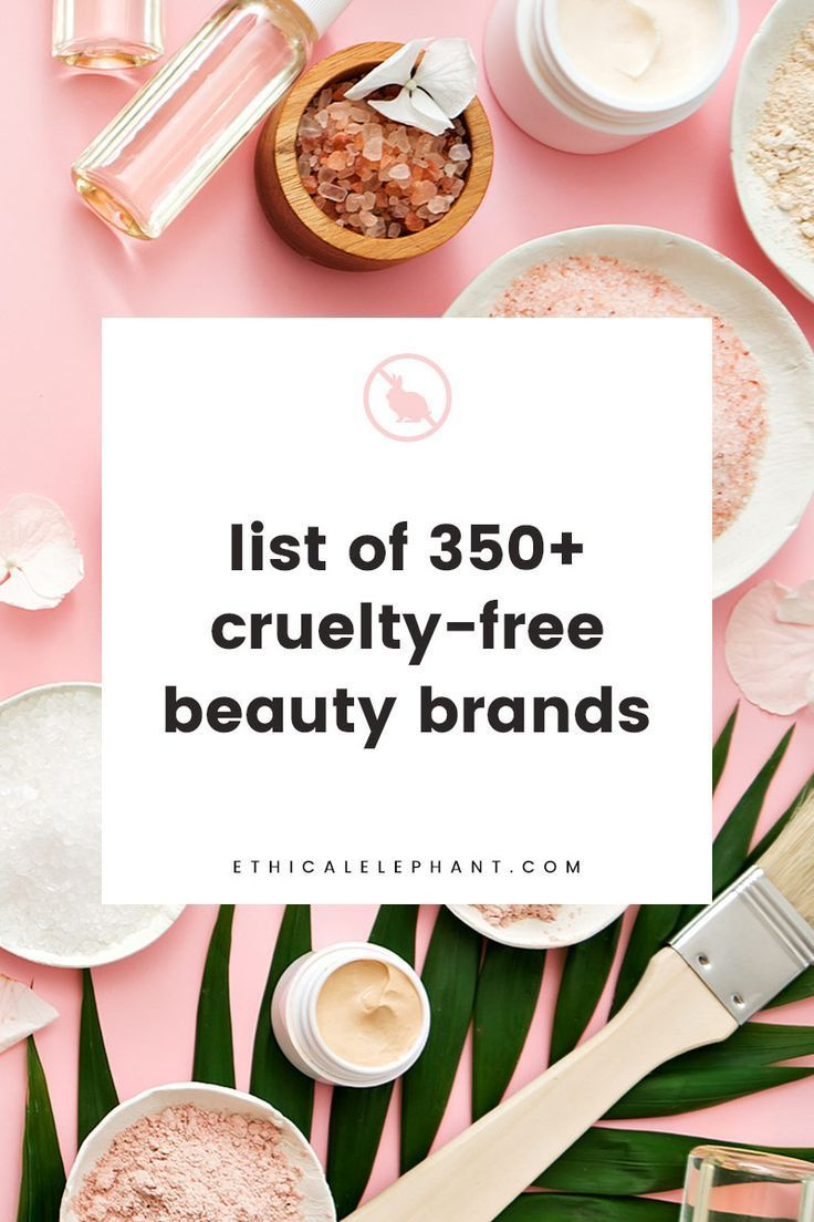 List of CrueltyFree Brands (2019) Not Tested on Animals