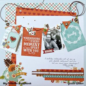 Project Ideas for Echo Park - I Love Family Collection - 12 x 12 Collection Kit