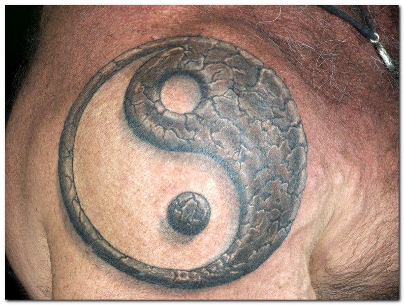Tattos Tattos: tribal yin yang tattoo | Inkhead | Pinterest ...